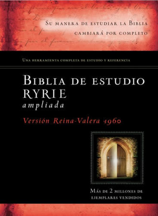 BIBLIA DE ESTUDIO RYRIE AMPLIADA RVR60 TAPA DURA
