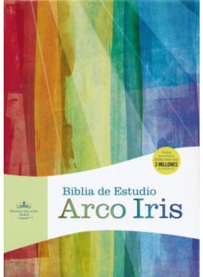BIBLIA DE ESTUDIO ARCO IRIS RVR60 IP NEGRO