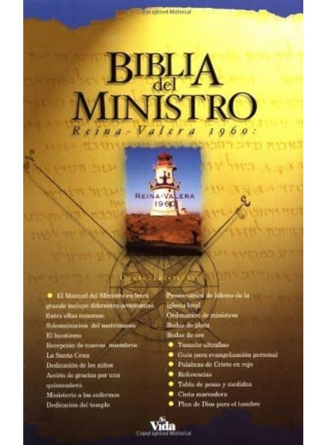 BIBLIA RVR60 DEL MINISTRO