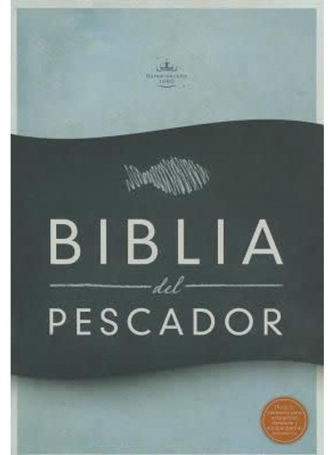 BIBLIA DEL PESCADOR RVR60 T AZUL