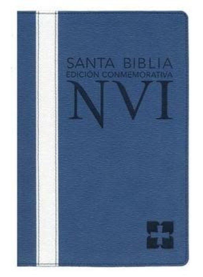 BIBLIA CONMEMORATIVA NVI AZUL
