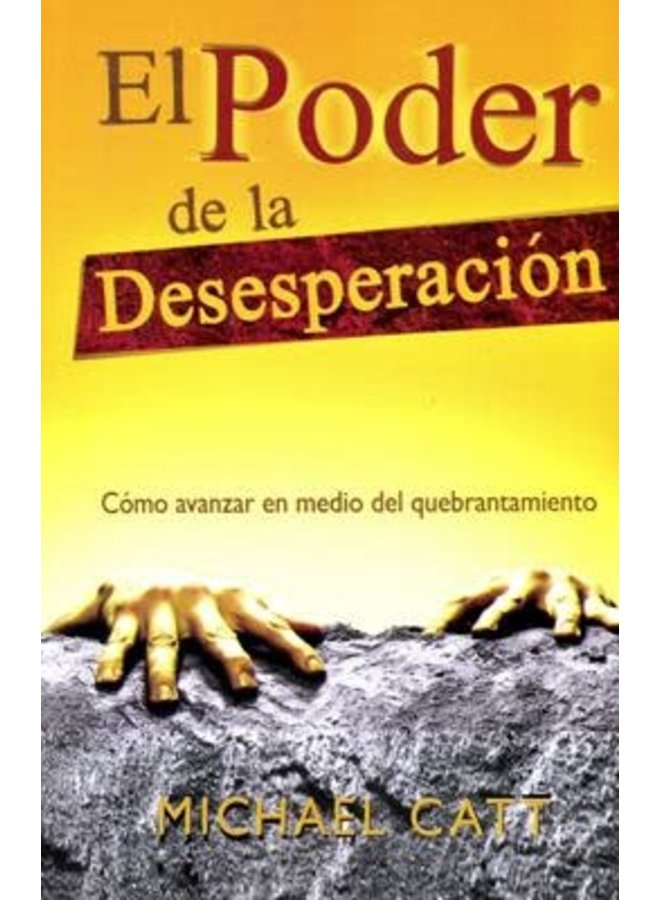 EL PODER DE LA DESESPERACIÓN (LIBRO DE BOLSILLO)