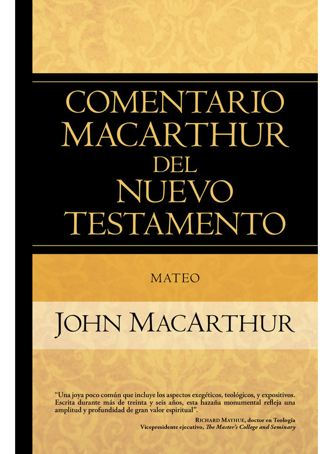 COMENTARIO MACARTHUR DEL NT MATEO