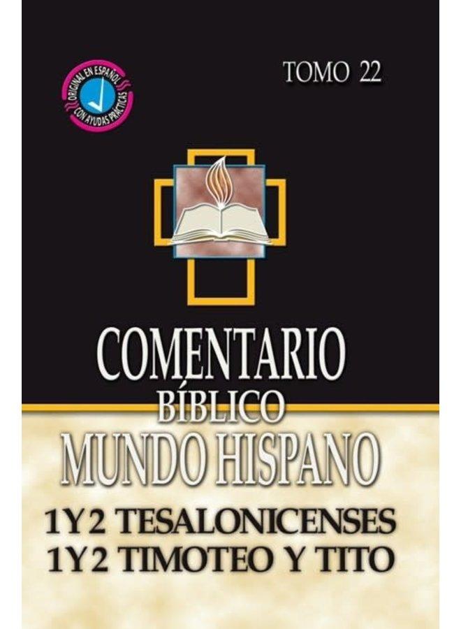 COMENTARIO BIBLICO MUNDO HISPANO 1 Y 2 TESALONICENSES TITO