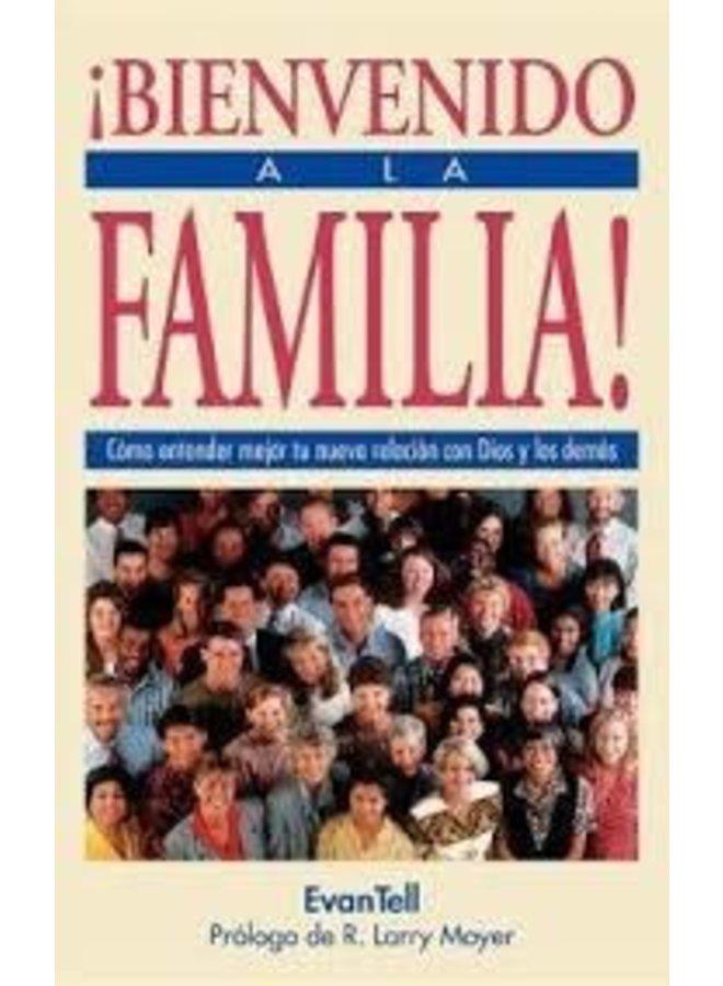 BIENVENIDO A LA FAMILIA!