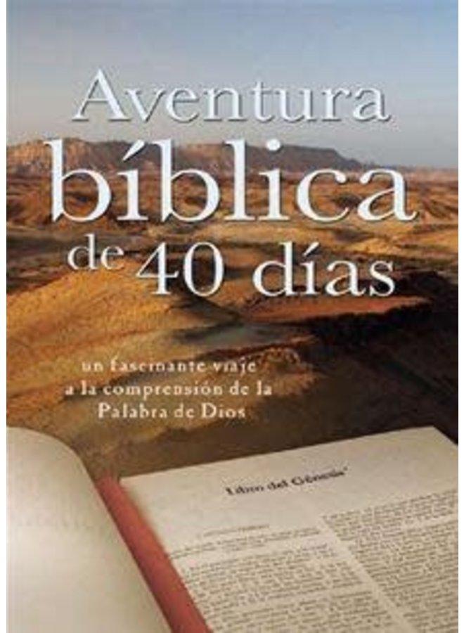 AVENTURA BIBLICA DE 40 DÍAS
