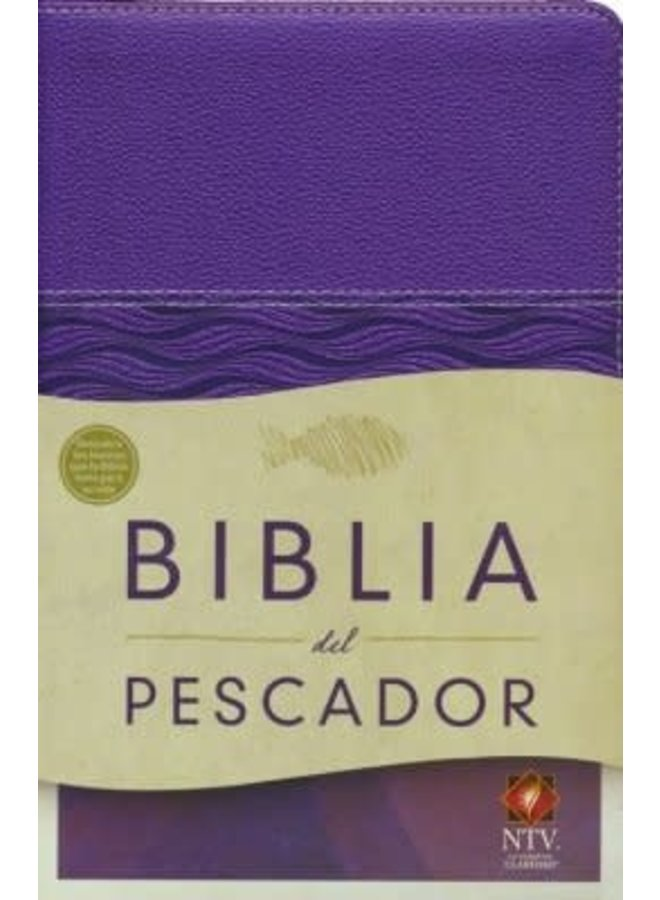 BIBLIA DEL PESCADOR NTV MORADA