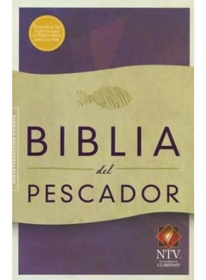 BIBLIA DEL PESCADOR NTV RUSTICA