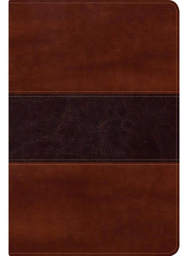BIBLIA DEL PESCADOR NVI LETRA GRANDE CAOBA