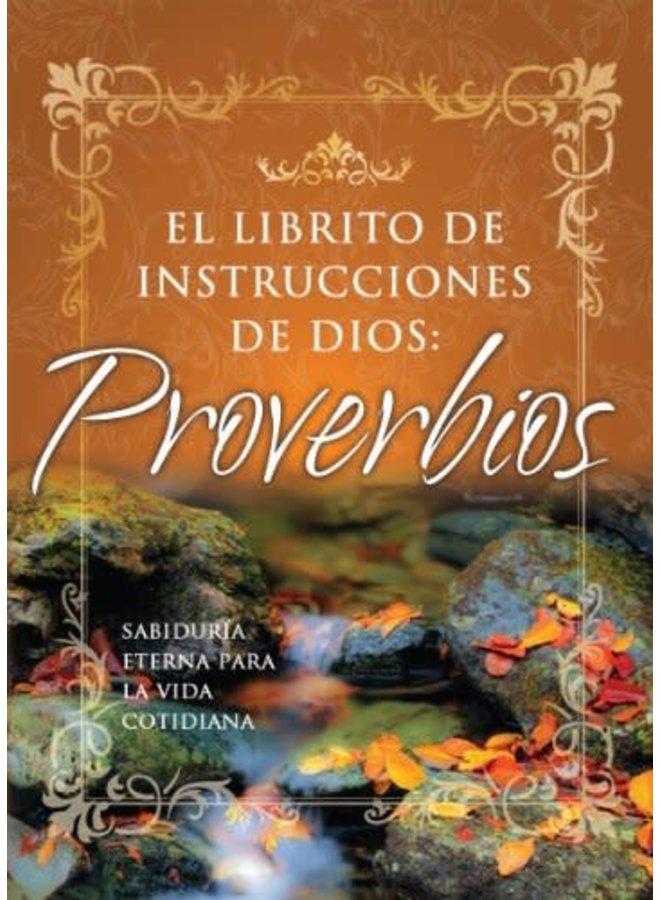 EL LIBRITO DE INSTRUCCIONES DE DIOS PROVERBIOS