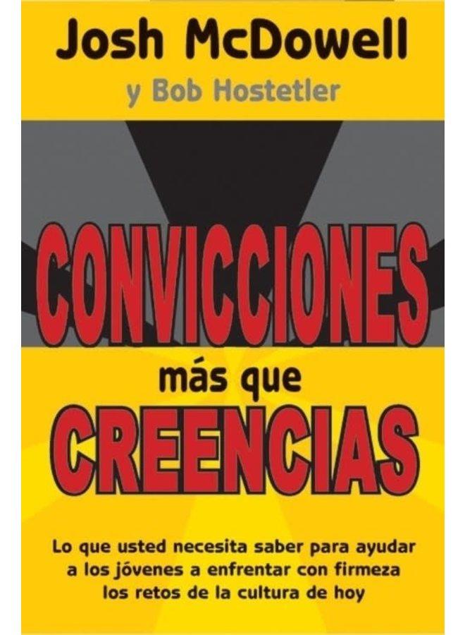 CONVICCIONES MAS QUE CREENCIAS