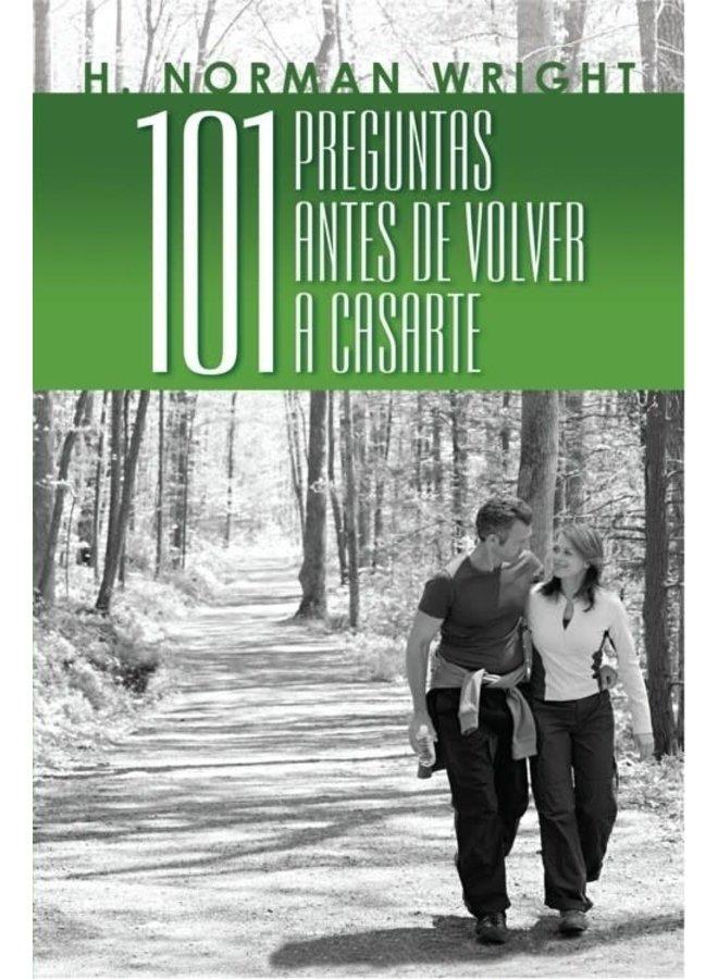 101 PREGUNTAS ANTES DE VOLVER A CASARTE