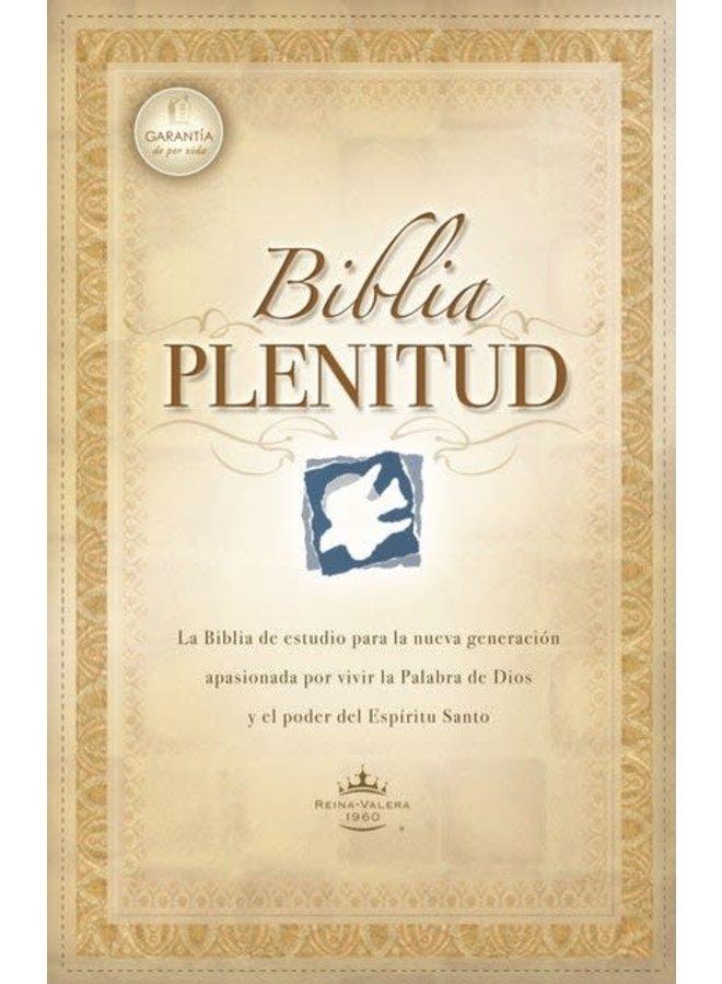 BIBLIA PLENITUD RVR60 PIEL NEGRA CON INDICADORES