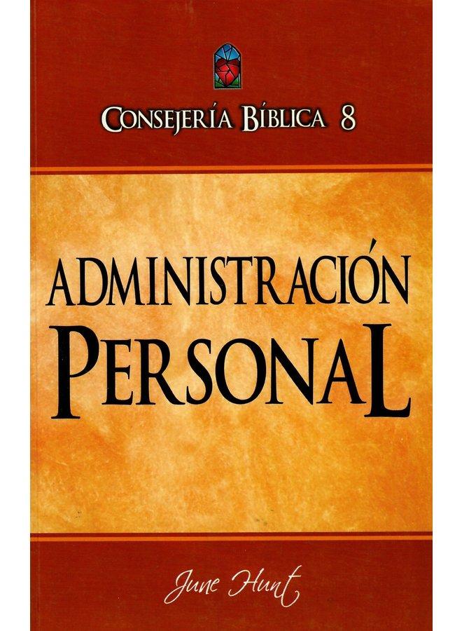 CONSEJERIA BIBLICA 8 ADMINISTRACION PERSONAL