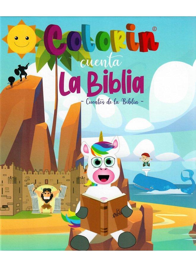 COLORIN CUENTA LA BIBLIA CUENTOS DE LA BIBLIA TOMO 3