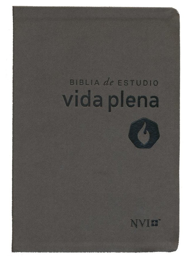 BIBLIA DE ESTUDIO  NVI VIDA PLENA