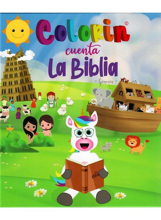 COLORIN CUENTA LA BIBLIA GENESIS T1