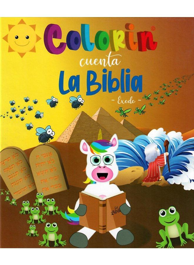 COLORIN CUENTA LA BIBLIA EXODO T2