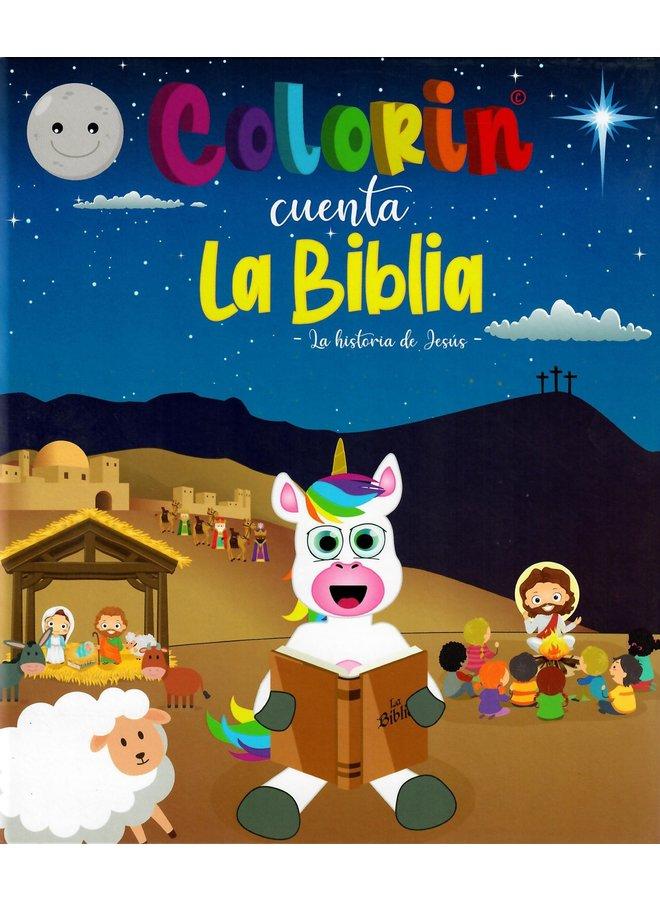 COLORIN CUENTA LA BIBLIA LA HISTORIA DE JESUS T4