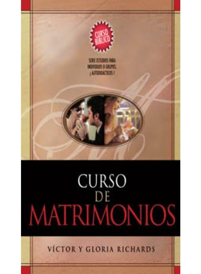 CURSO DE MATRIMONIOS