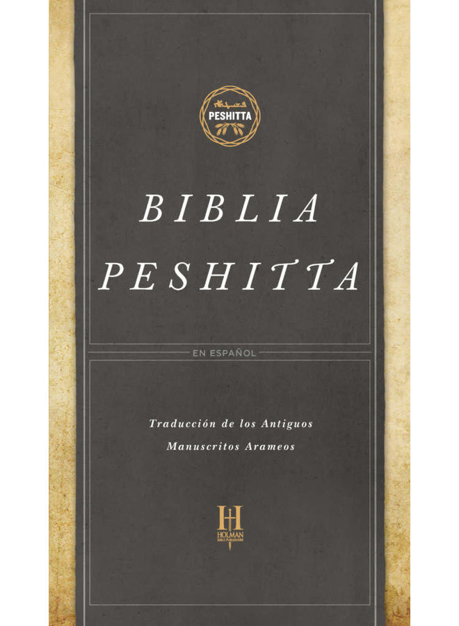 BIBLIA DE ESTUDIO PESHITTA PASTA DURA