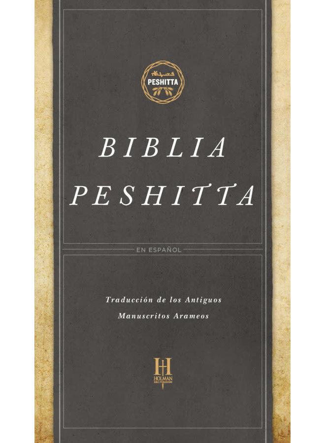 BIBLIA PESHITTA PASTA DURA CON INDICADORES