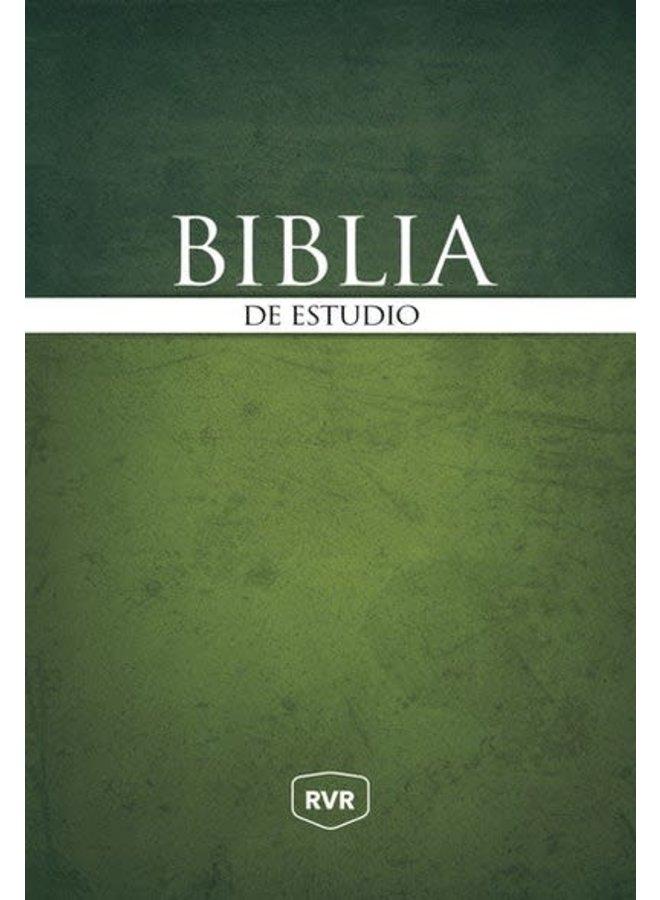 SANTA BIBLIA DE ESTUDIO REINA VALERA REVISADA RVR, TAPA DURA