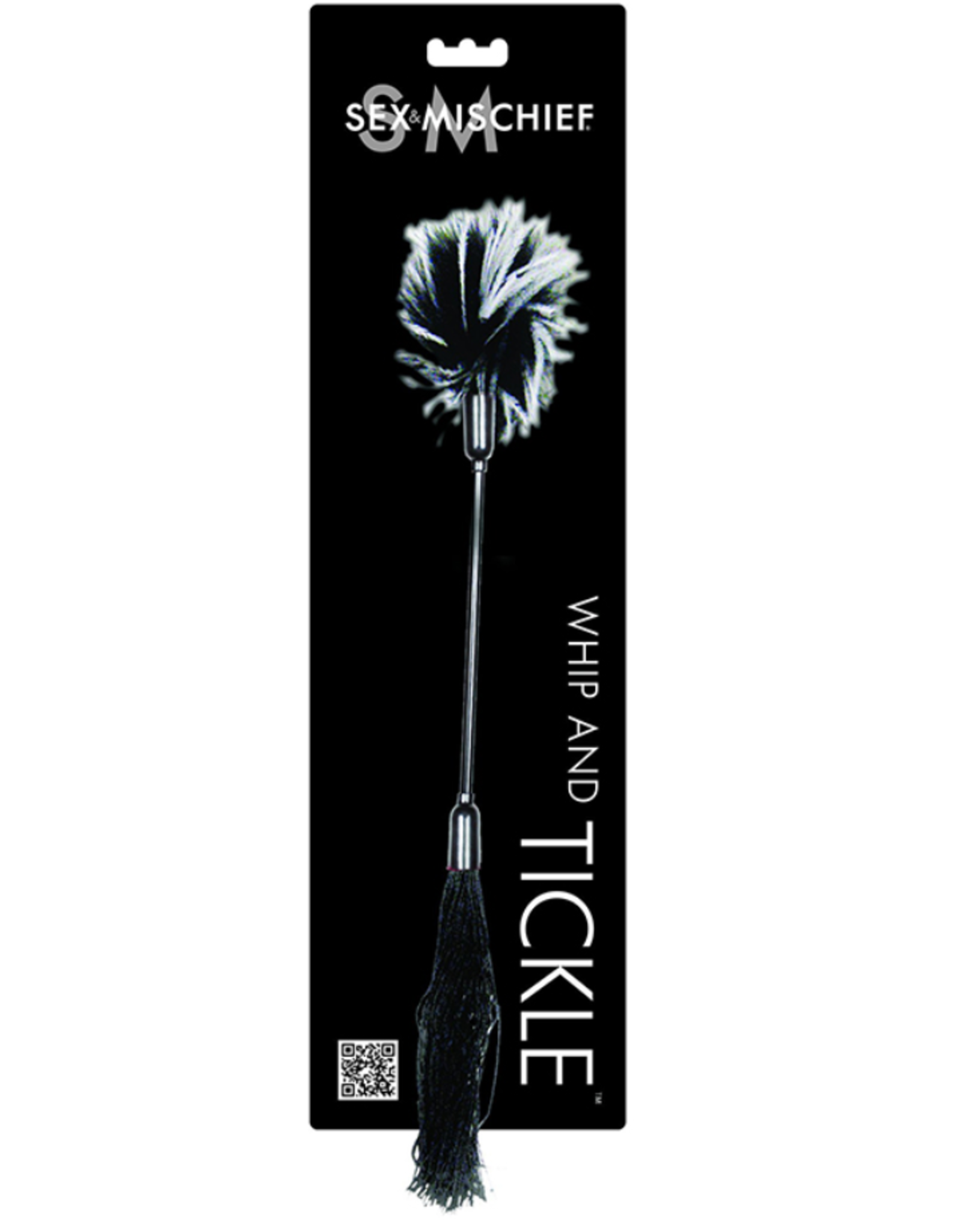 S&M Whip and Tickle: Black and White