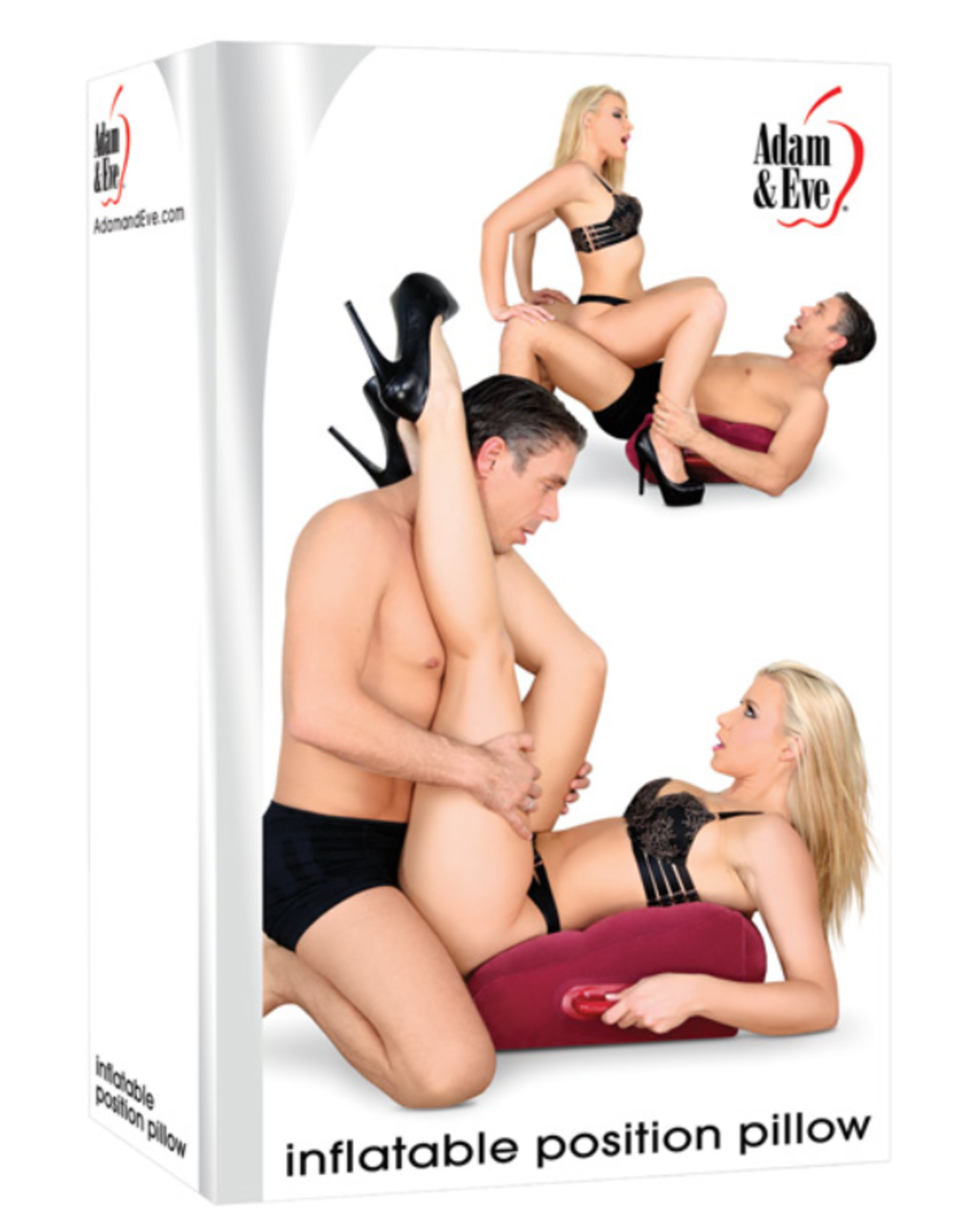 Adam and Eve Inflatable Position Pillow