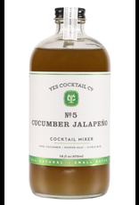 Cucumber Jalapeno Cocktail Syrup 16oz
