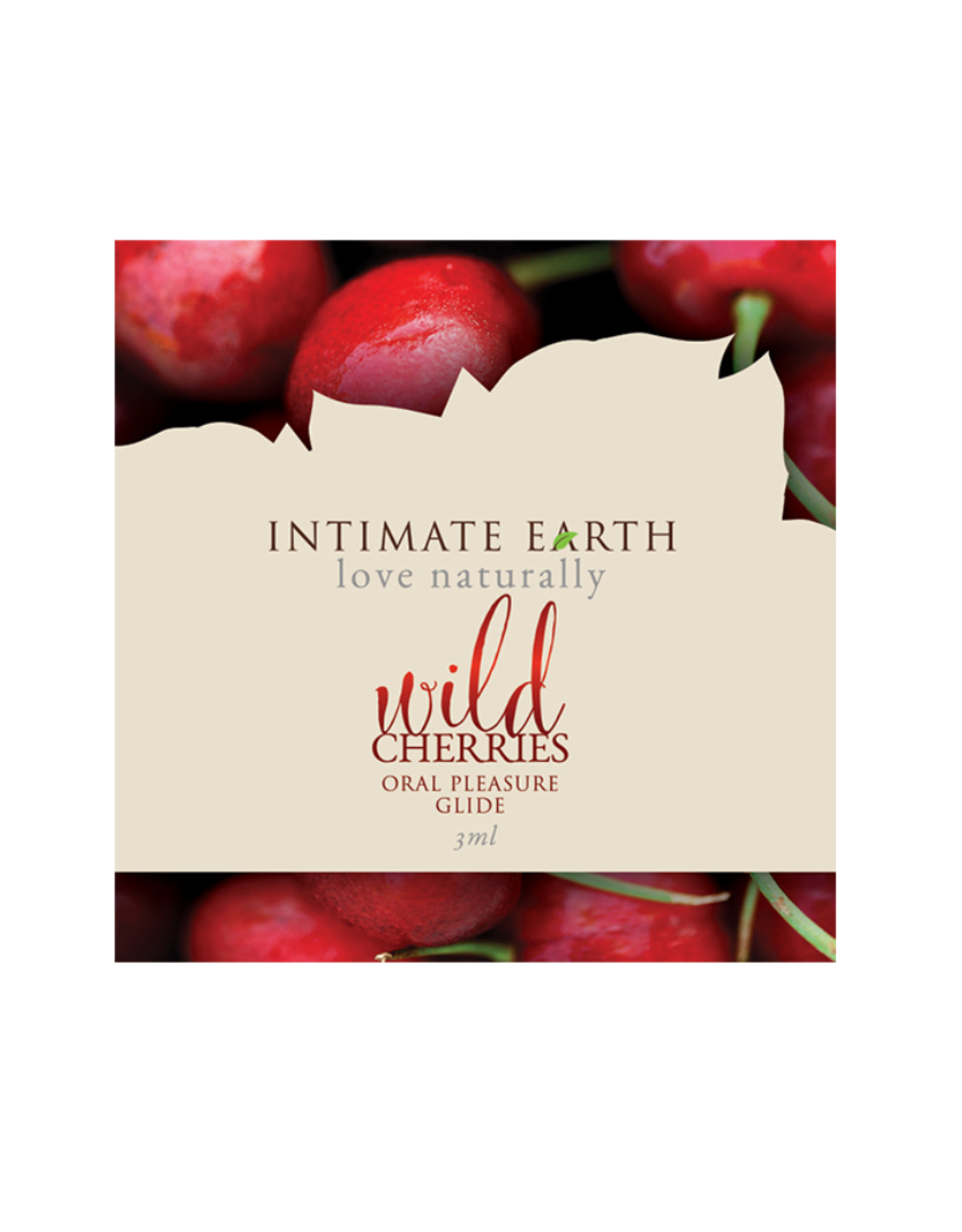 Intimate Earth Lubricant Foil - 3 ml Wild Cherries