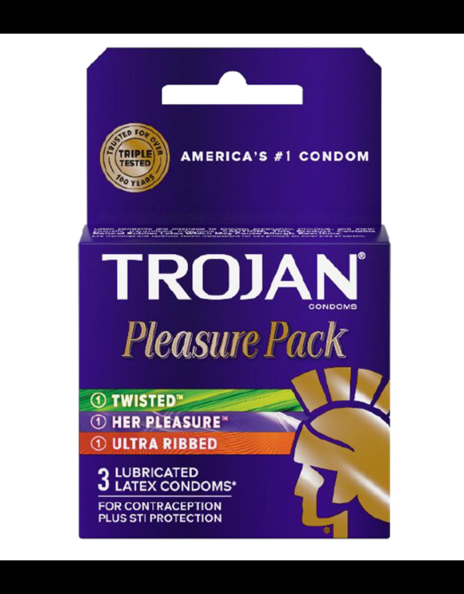 Trojan Pleasure Pack 3pk