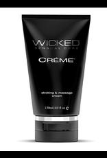 Wicked Sensual Care Creme Masturbation Cream for Men Silicone Based - 4 oz