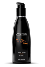 Wicked Sensual Care Heat Warming Sensation Water Based Lubricant - 2 oz