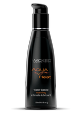 Wicked Sensual Care Heat Warming Water Based Lubricant - 4 oz