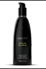 Wicked Sensual Care Hypoallergic Aqua Sensitive Lubricant - 8 oz