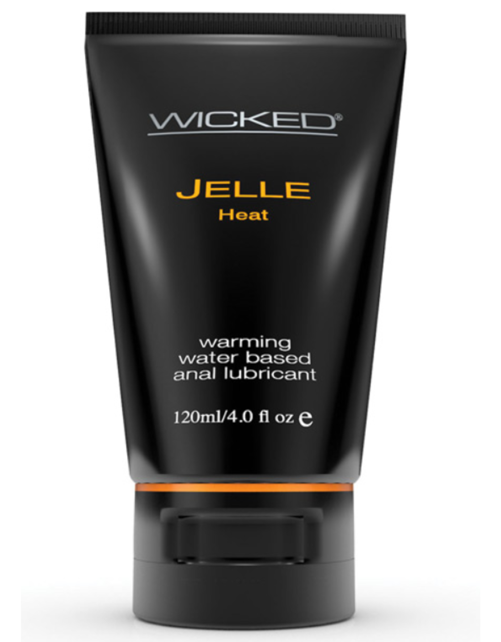 Wicked Sensual Care Jelle Warming Water Based Anal Gel Lubricant - 4 oz