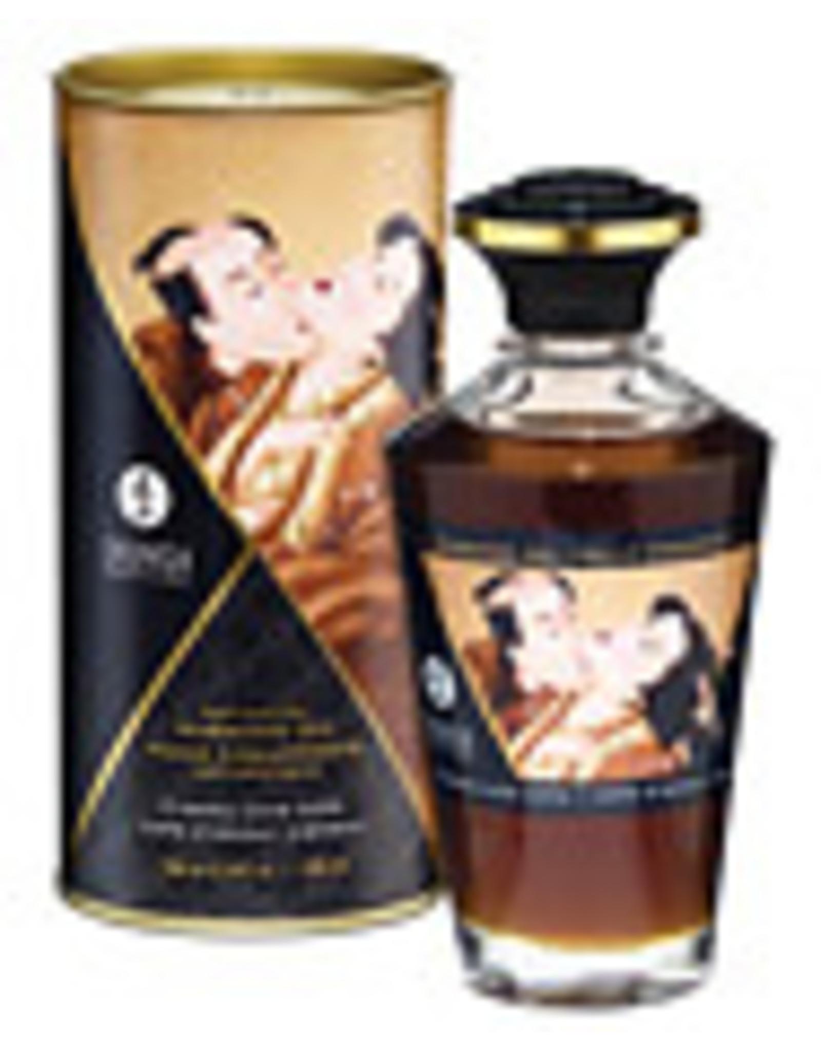 Shunga Warming Oil 3.5oz Creamy Love Latte