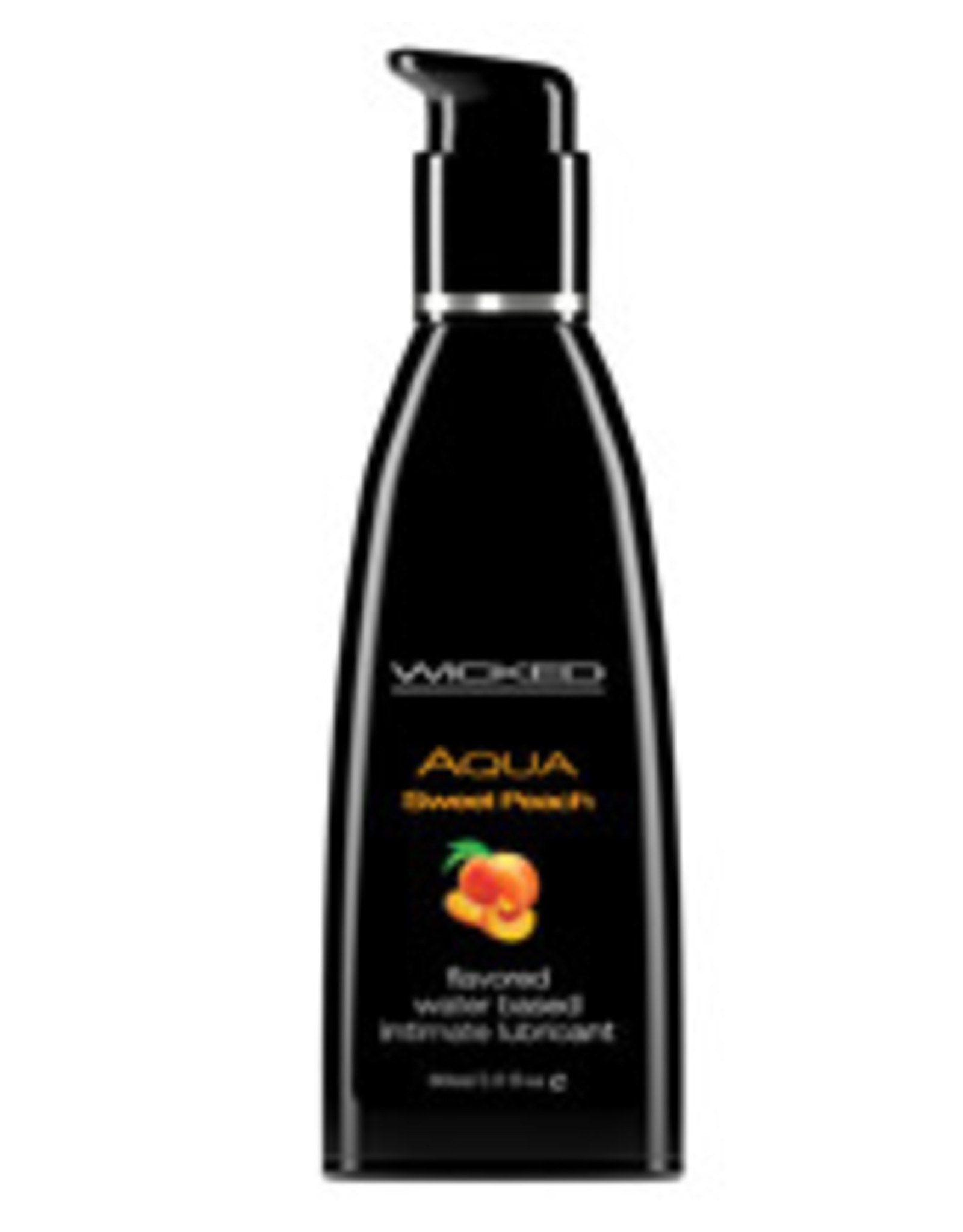 Wicked Sensual Care Water Based Lubricant - 2 oz Sweet Peach