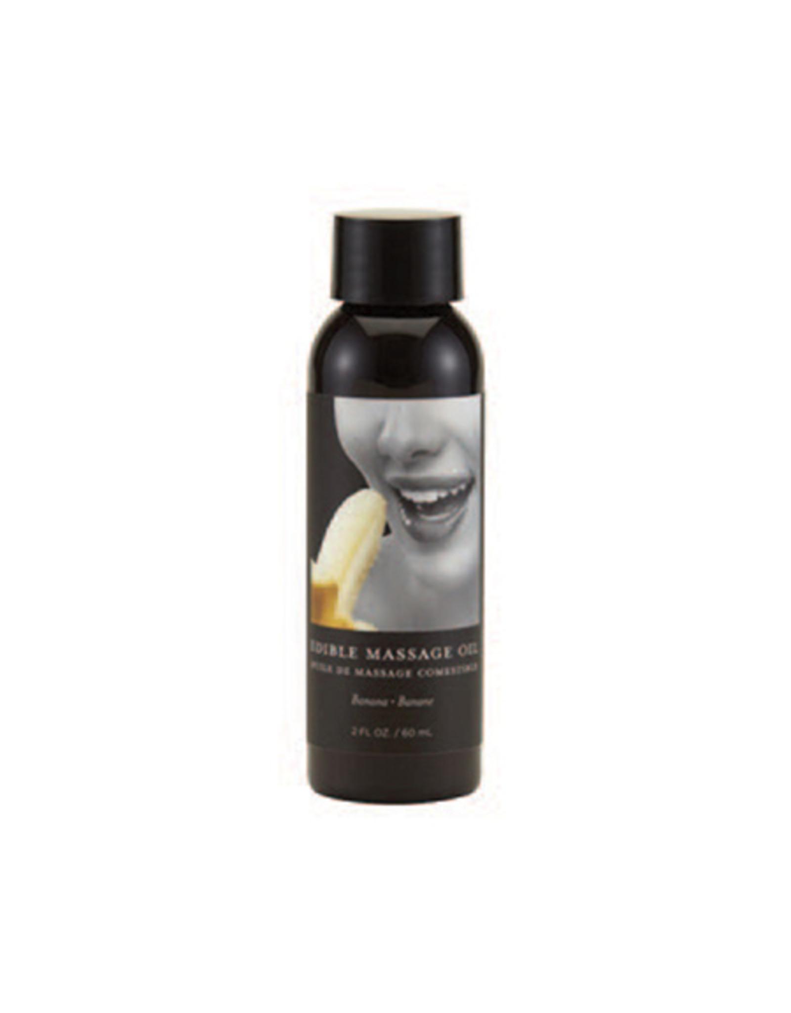 Earthly Body Edible Massage Oil Banana