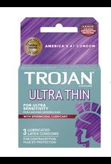 Trojan Ultra Thin Armor 3pk