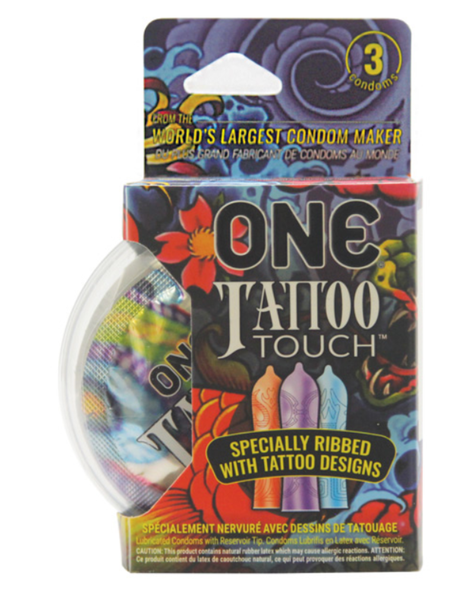 One Tattoo Touch 3pk