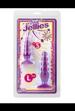 Crystal Jellies - Anal Delight Trainer Kit Purple
