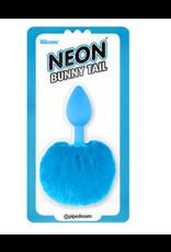 Neon Butt Plug Bunny Tail
