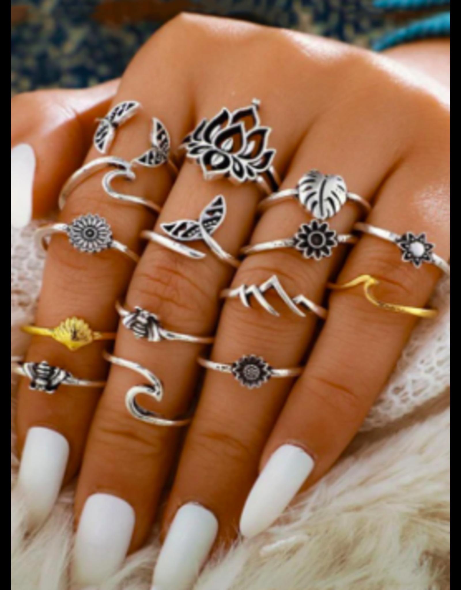 Babylon Ring Set