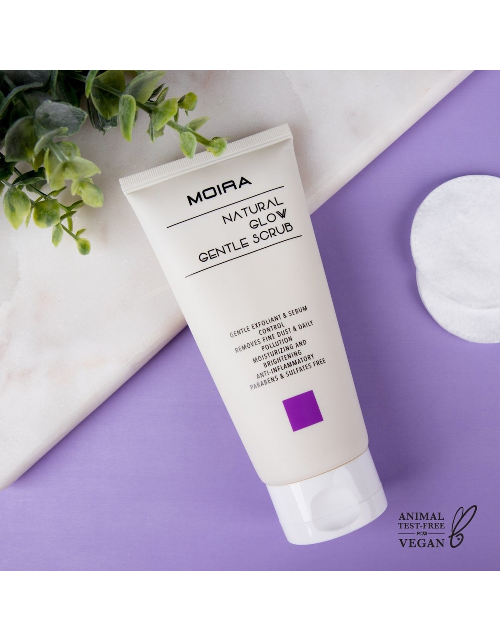 Moira Cleansing FoamNatural Glow Gentle Scrub