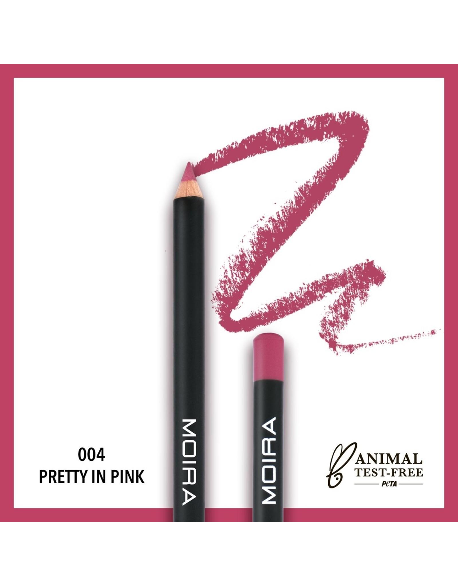 Moira Lip Exposure Pencil Pretty In Pink 004
