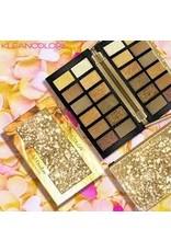 Kleancolor Neutral Gold Brown 12 Color Gold Ombre Palette