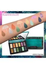Kleancolor  - Sprinkle 12 Color Raindrops Palette