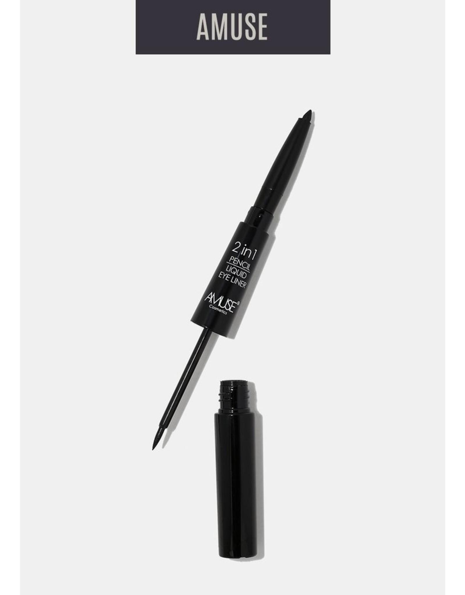 Amuse Cosmetics 2 IN 1 Pencil / Liquid Eyeliner